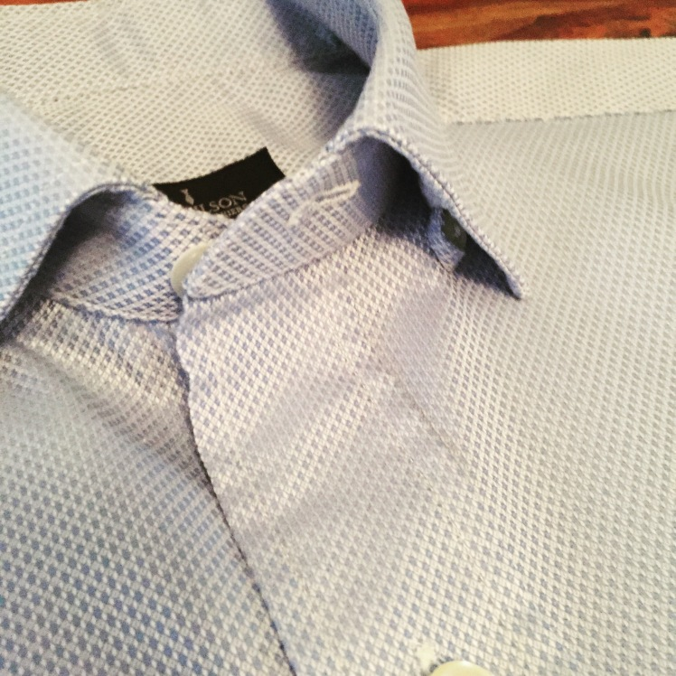 Hidden Button Down Collar